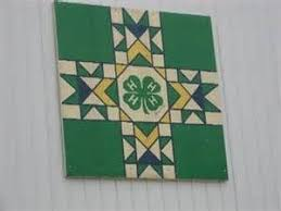 28 best 4 h barn quilts images on pinterest children barn quilt
