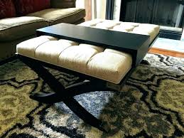 storage ottoman coffee table with trays square storage ottoman with tray square storage ottoman with trays
