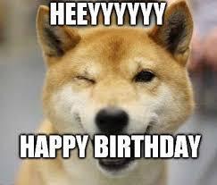 Happy Birthday Dog Meme - funny happy birthday dog meme mycoolmemes
