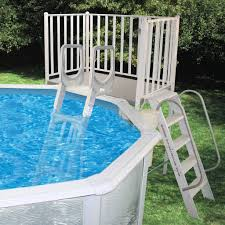 swimming pool discountersfree standing aluminum decks from 749 88