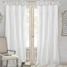 White Curtain Panel White Curtains Drapes Joss