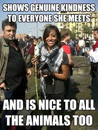 College Liberal Meme Who Is She - actual good girl college liberal memes quickmeme