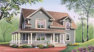country style home plans with wrap around porches american country style house plans youtube