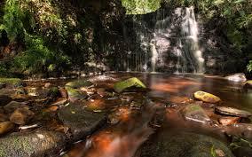 Cosy Cosy Waterfall 2560 X 1600 Nature Photography Miriadna Com