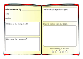 report writing template ks1 book review writing frames and printable page borders ks1 ks2