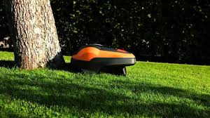 flymo robotic lawnmower 1200r working principle youtube