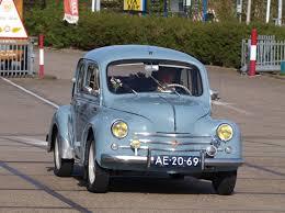 1958 renault dauphine car picker blue renault dauphine
