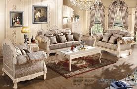 canapé royal européenne royal style brun canapé ensemble de meubles de salon