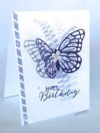 a ginger snap simple birthday card with a wow ginger stamps