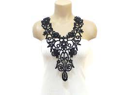 lace accessories crochet lace necklace by haremdesign on deviantart