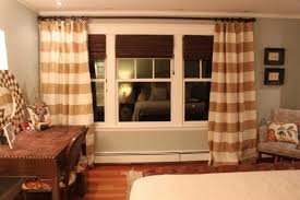 Brown And White Striped Curtains Curtains And Gray Curtains Amazing Striped Curtains