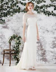 monsoon farah bridal sleeve dress ivory sale wedding dress