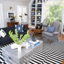 Black White Striped Rug Photos Hgtv