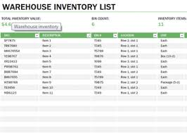 Excel Inventory Templates Learn Microsoft Excel Warehouse Inventory Template Free