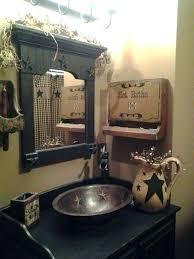 primitive country bathroom ideas country bathroom decor ideas magnificent best primitive country