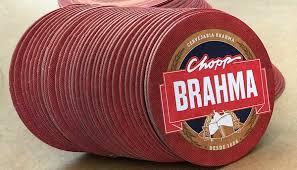 Basta A Nova Bolacha de Chopp BRAHMA - Parceiro AMBEV Cx 1.000 Peças  #KI87