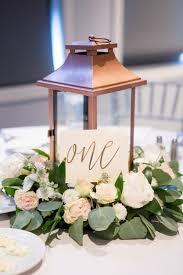 wedding centerpieces lanterns flower wreath lantern centerpiece lantern eucalyptus copper