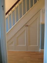under stairs closet door ideas