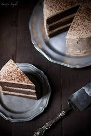 chocolate espresso layer cake recipe savory simple