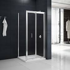 Shower Bifold Door Merlyn Mbox Bifold Shower Door 900mm