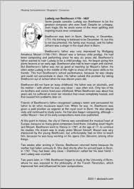 biography of beethoven biography ludwig van beethoven upper elem middle abcteach