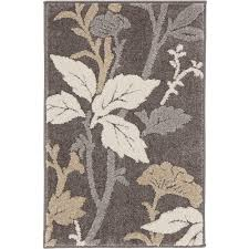 home decorators area rugs home decorators collection blooming flowers gray 7 ft 10 in x 9 ft