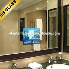 bathroom tv ideas bathroom tv mirror review deluxe at grand the bathroom