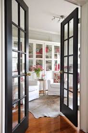 Interior French Doors With Transom - black painted french doors sw urbane bronze this is happiness