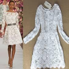designer kleider shop hochwertigen weißen kleid 2015 neue mode sommer