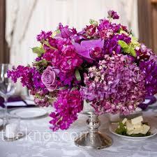 Purple Flowers Centerpieces by 146 Best Purple Wedding Ideas Images On Pinterest Marriage
