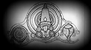 how to draw lord venkateswara drawing tanjore painting for