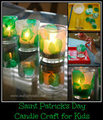 saint patrick u0027s day craft for kids u2013 make a votive mommy blogs