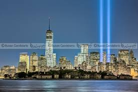 world trade center lights 911 tribute in lights new york city susan candelario sdc
