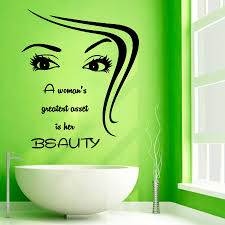 quote decals for glass mural beautiful wall mural decal hair salon wall sticker