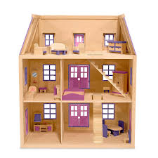Dolls House Furniture Furniture Pink Theme Ebay Dollhouse With Open Roof And Furniture