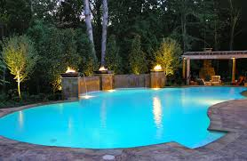 swimming pool accents pool features personalized features