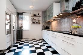 carrelage damier cuisine best cuisine carrelage damier noir et blanc photos design trends