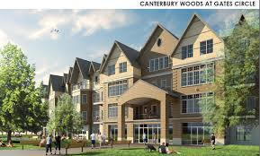 mix of uses anchored by canterbury woods proposed for gates circle