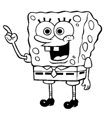 twwa spongebob coloring thanksgiving coloring pages