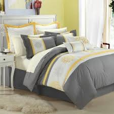 Grey And Yellow Comforters Yellow Comforter Sets Full Tags Yellow And Black Comforter Set