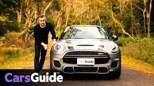 mini cabrio john cooper works manual convertible 2016 review