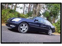 lexus ls430 daytime running lights 2005 lexus ls430 for sale classiccars com cc 1005260
