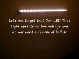 led tube lights vs fluorescent led tube light vs fluorescent light youtube