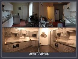 comment refaire une cuisine avant après projet de décoration et d aménagement d espace