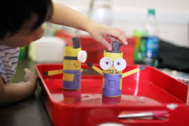 toilet paper roll craft u2013 minions madpimp com