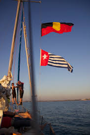 West Australia Flag West Papuan Blood On Your Hands Freedom Flotilla