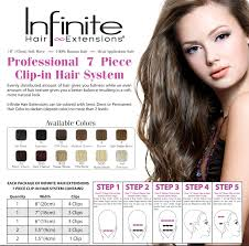 4 Piece Clip In Hair Extensions by Items Of Interest Article
