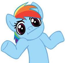 Rainbow Dash Meme - clover keen cloverkeen on pinterest