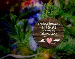 friendship ornament etsy