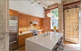 bamboo kitchen cabinets lowes amazing modern kitchen with bamboo cabinets eco friendly green pic